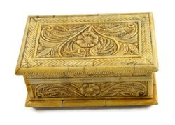 Handmade Camel Bone Box Handcarved By Experienced Artisans