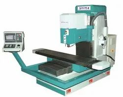 CNC Bed Type Vertical Milling Machine, Automation Grade: Automatic