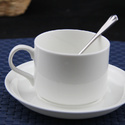 Plain Cup And Saucer