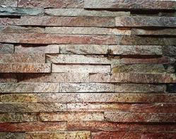 Copper Slate stone Stone wall Panels, Size: 15x60 cm, Thickness: 12 to 15 mm