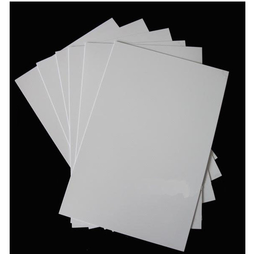 photograph about Printable Plastic Sheets named PVC Inkjet Printable Sheets, Pvc, Ldpe, Hdpe Plastic
