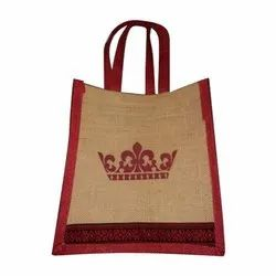 Printed Sanghvi Enterprise Jute Cotton Bag