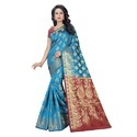 Cotton Silk Jacquard Saree (Rich Pallu)