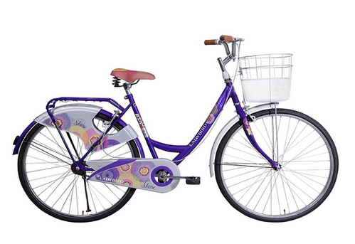 8e0855e3c3e Purple BSA Lady Bird Shine (New Version) 26T, Rs 5999 /piece | ID ...
