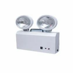 White Emergency Exit Twin Beam Light - LED / TBL