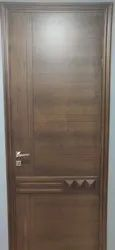 Wood Brown Wooden Safety Door, For Home, Hotel