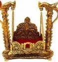 Decorative Metal Jhulla For Gods