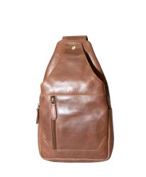 BB01 - Cow Oil Pull Up Leather Cross Body Bag