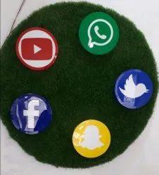 Round Acrylic Board