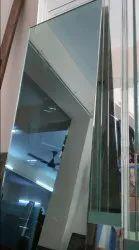 Mirror Type Glass