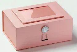 Rectangle Plastic Jewellery Box