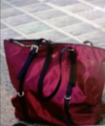 Maroon Plain Bag, Size/Dimension: Big Size