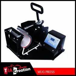 Heat Press Black Mug Printing Machines, Mug, Bottle, Size/Dimension: 15x15 in
