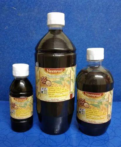 Dark Brown Neemraali ' Sandalwood'  Neem Floor Cleaner, Packaging Type: Bottle