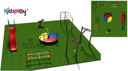 Premium Outdoor KidsPlay Activity Zone - KP-KR-P103