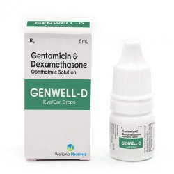 Gentamicin & Dexamethasone Eye Drops