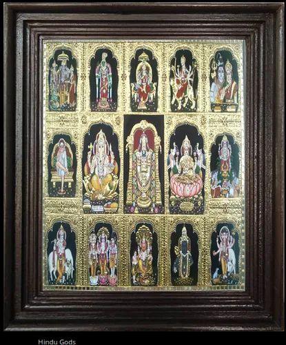 Hindu Gods Tanjore Art Paintings