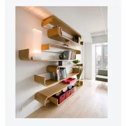Brown Ply Board And Blockboard Termite Free Wooden Wall Rack Warranty 10 Years 7 Shelves Rs 750 Square Feet Id 21095363991