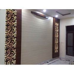 White & Brown Exclusive PVC Panel
