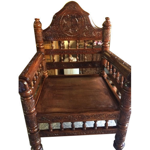 Brown Standard Antique Wooden Chair - Brown Standard Antique Wooden Chair, Rs 10500 /piece, Grand