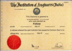 Chartered Engineer Certifications In Used Machinery Export And Import.