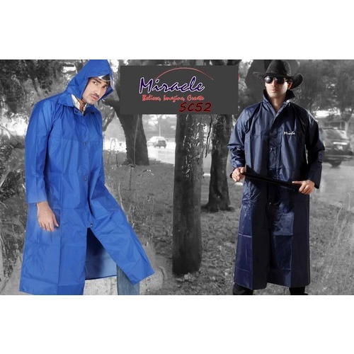 ea3a55427 Plain Polyester Promotional Mens Miracle Raincoat, Rs 450 /piece ...