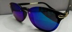 Black & Golden Casual Wear Ladies Sunglasses