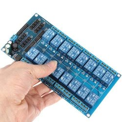 16-Channel 5V Relay Shield Module with Optocoupler for Arduino