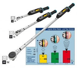 Hazet Digital Torque Wrench With Built Angle Gauges