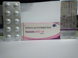 Cefixime 200mg Lactic Acid Bacillus Dispersible Tablets