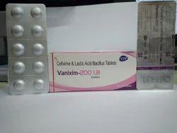 Cefixime 200mg Lactic Acid Bacillus Dispersible Tablets