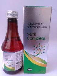 Zinc Sulphate Nicotinamide Lysine Hcl Vitamin Syrup