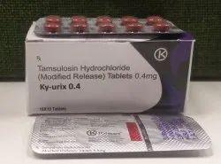 Tamsulosin Hydrochloride(Modified Release) Tablets 0.4 Mg