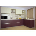 L Shape Modern Modular Kitchen