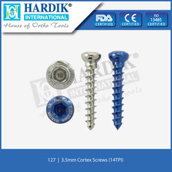 3.5mm Cortex Screw (14 TPI)