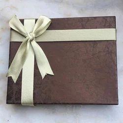 Brown Cardboard Corporate Chocolate Gift
