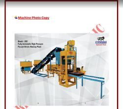 Bhagavati Hydraulic Fully Automatic Fly Ash Bricks And Block Making Machine, 202 Model