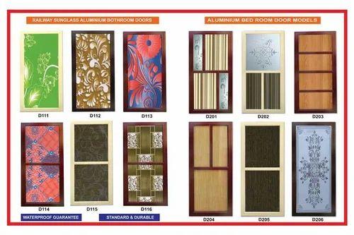 Aluminium Bath Room Doors Lakshmi Durga Decors Id 14744494673