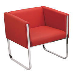 Red Single Seat Sofa