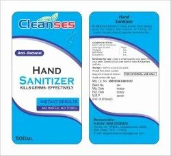 Hand Sanitizer Packaging Pouch