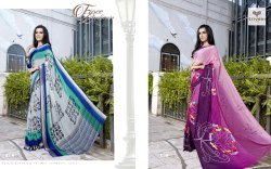 Triveni Ambreen Colourful Party Wear Sarees
