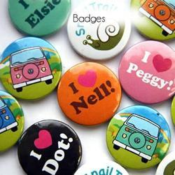 56mm Printed Badges