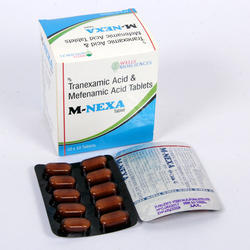 Tranexamic 500 mg Mefenamic 250 mg Tablet