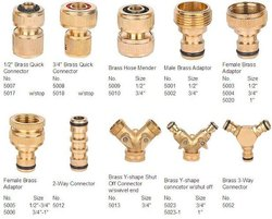 Brass Water Hose Fittings, For Industrial