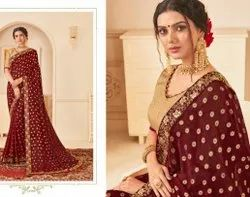 Wedding Embroidery Latest Sarees