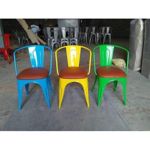 Garud India 44x44x74 Cm Metal Chair