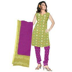 Bandhej Mehandi Print Suit