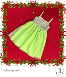 Lime All Mine Little Gown