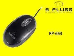 Black RP 663 R PLUSS Optical Mouse