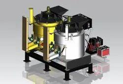 Twin Hydraulic Thermoplastic Preheater
